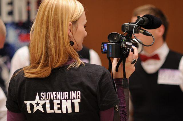 intervjuji s tekmovalci šova Slovenija ima talent